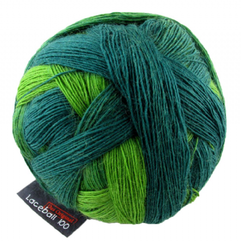 Schoppel-Wolle LACE BALL 100 evergreen 2168